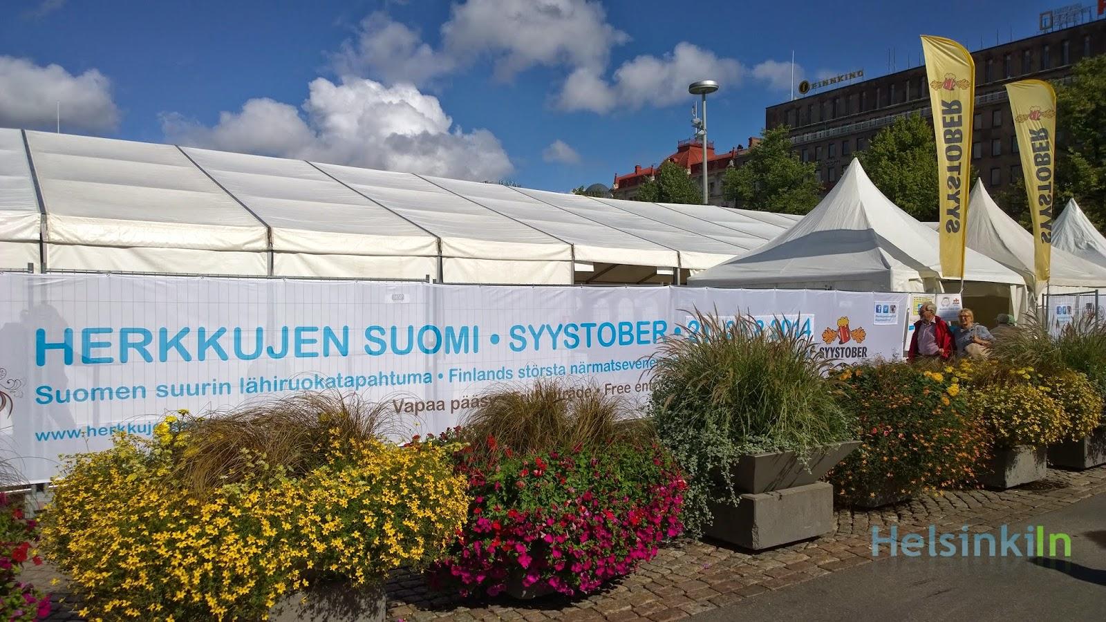 Herkkujen Suomi and Syystober 2014