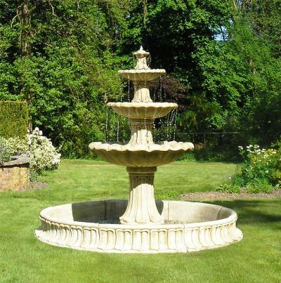 fontaine jardin pierre,idées fontaines,fontaine artificielle jardin ...