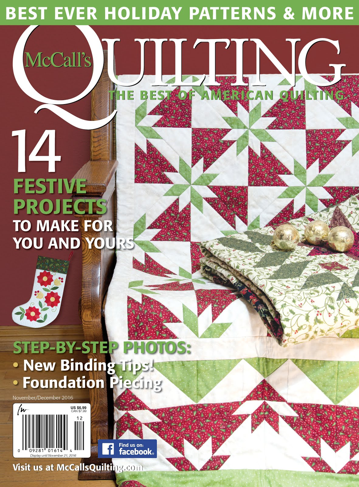 Featured in McCall's Quilting