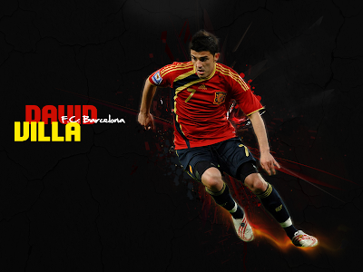 David Villa Wallpapers 2012