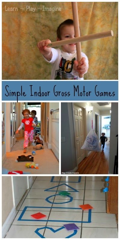 6 indoor games to get kids moving indoor gross motor play for Indoor gross motor activities