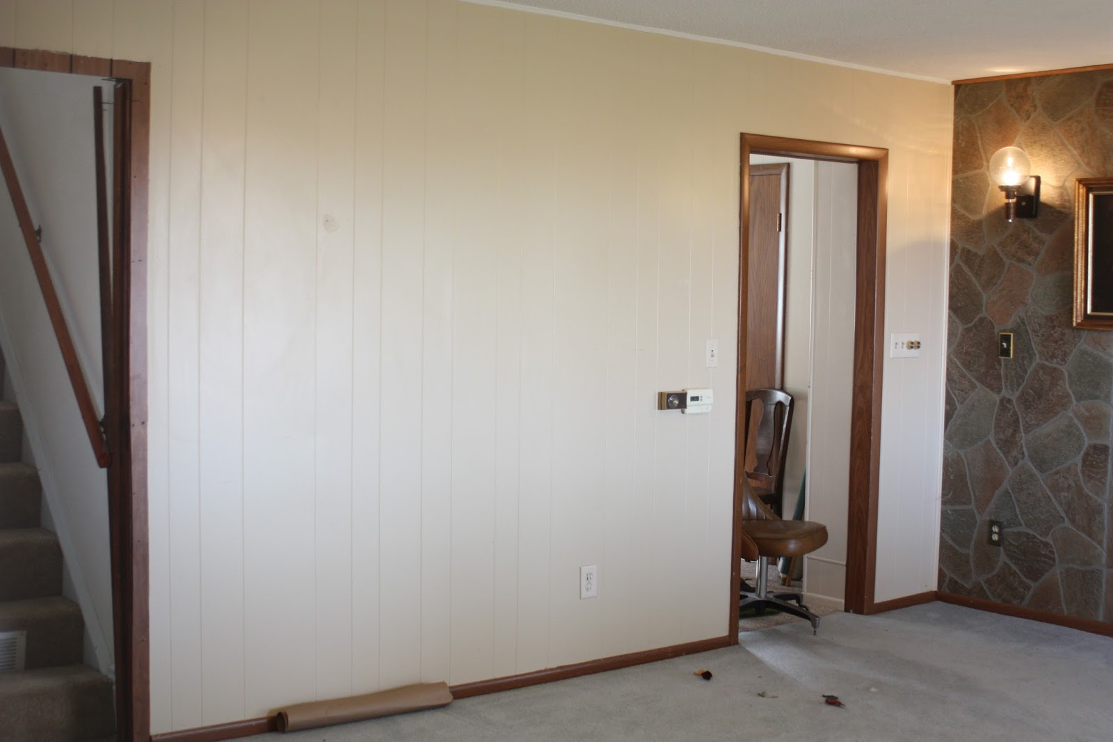Blank Kitchen Wall Before And After The Kitchen Farmhouse Kitchen Renovation