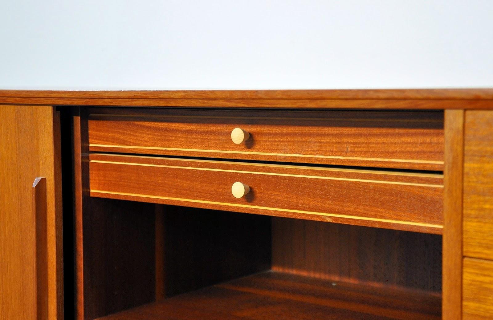 Dyrlund Danish Credenza : Select modern: dyrlund teak credenza bar sideboard buffet with