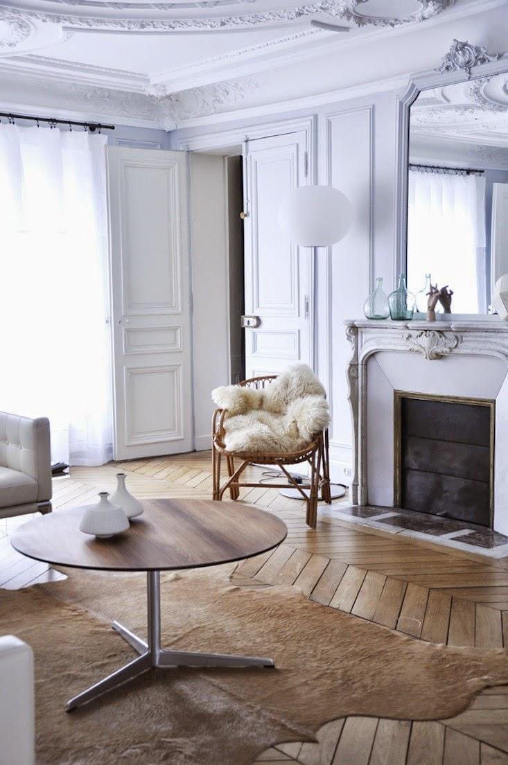 K r i s p i n t e r i r weekend inspiration minimal paris for Interni parigini