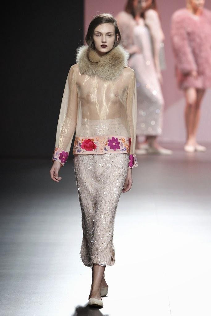 Fashion runway duyos fall 2014 mercedes benz fashion - Madrid chic style ...