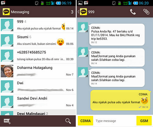 tips mengatasi tidak bisa menerima sms android