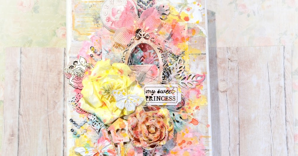 Ophelia S Adornments Blog May 2012: Song Li Design: Flying Unicorn Mixed Media Altered Canvas