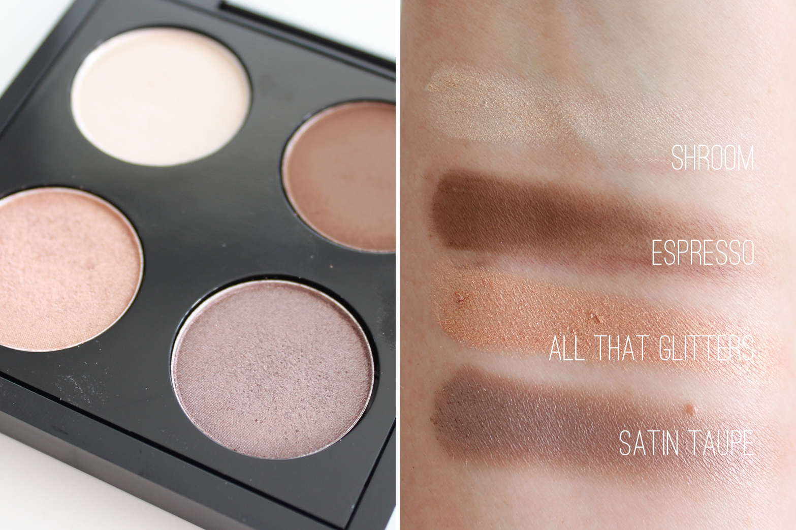 MY CURRENT MAC QUAD - Review + Swatches - CassandraMyee