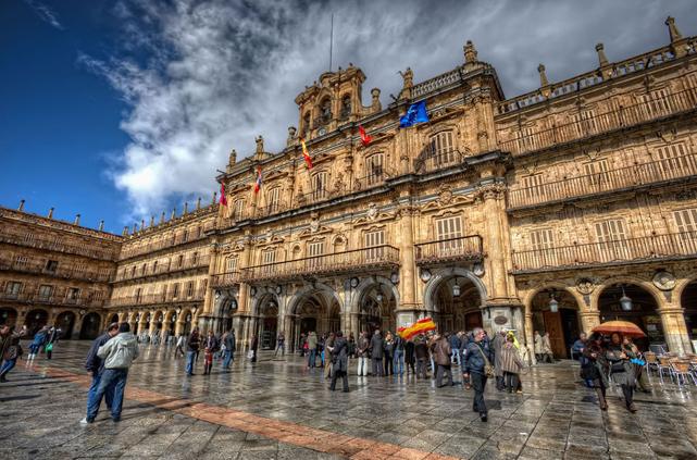 Испания,архитектура Испании,Плаза Майор,Саламанка