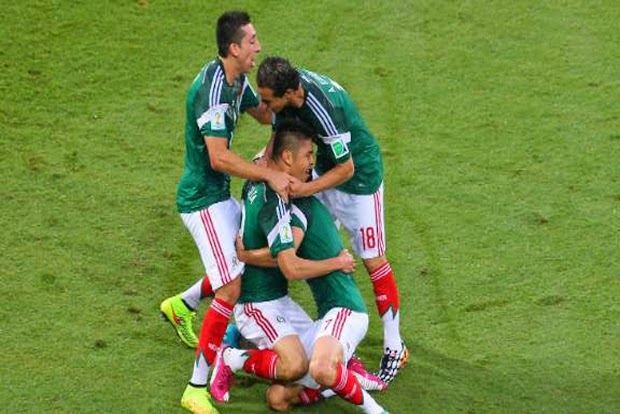 FIFA World Cup 2014 - Mexico Win over Cameroon