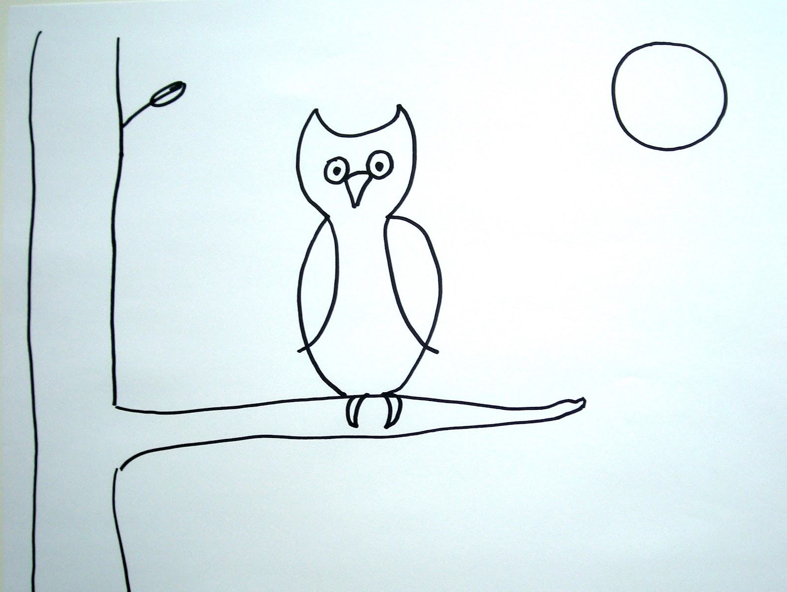 Uncategorized Easy Drawings Of Owls notes from the story room night walk