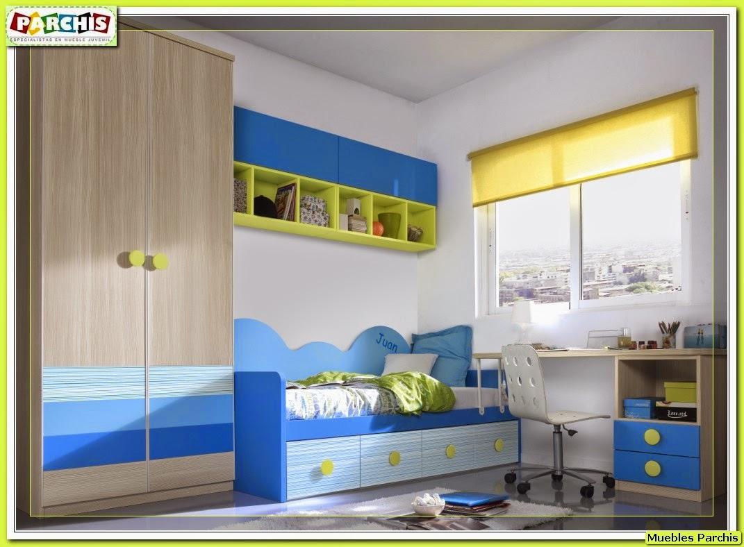 Muebles juveniles dormitorios infantiles y habitaciones for Muebles dormitorio diseno