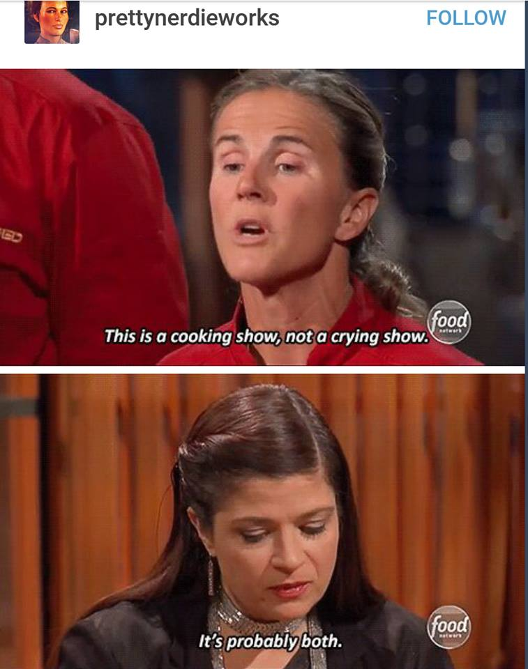 Cutthroat Kitchen Literally Pits Contestants Against Each Other, Forcing  Them To Steal Equipment And/or Ingredients, As Well As Sabotage Their ...