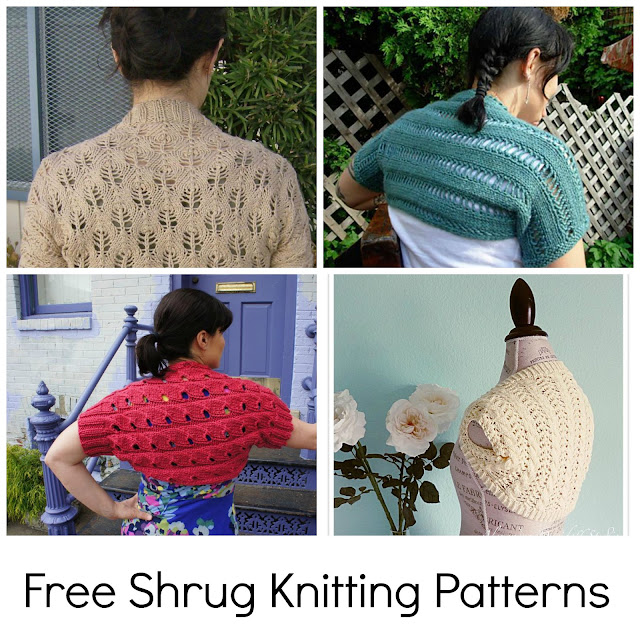 Free Shrug Knitting Patterns from Craftsy