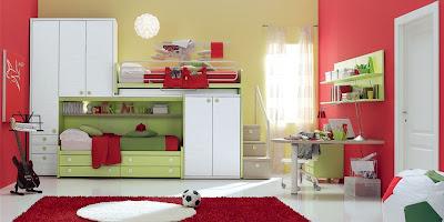 Dormitorios italianos muy modernos para adolescentes for Roperos para cuartos de ninas