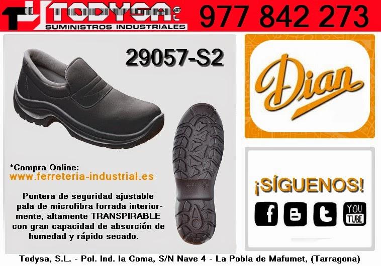 Suministro 29057 S2 DE DIAN SEGURIDAD Industrial TodysaCALZADO N0OXwn8Pk