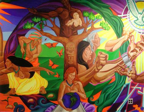 Diversidad cultural for Murales faciles y creativos