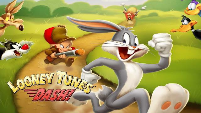 تحميل لعبة ارنوب الشهيرة للاندرويد Looney Tunes Dash apk