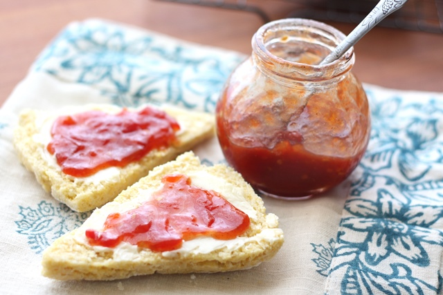 Tomato Jam recipe by Barefeet In The Kitchen