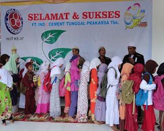 Warga Desa Meriahkan HUT 37 Indocement
