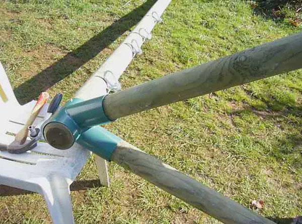 Très Fabriquer Un Portique En Bois. Nous Utilisons Pour Commencer Des  UY83
