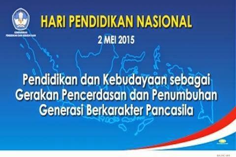 Tema Hari Pendidikan Nasional (Hardiknas) 2015