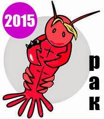 Годишен хороскоп 2015 за зодия Рак
