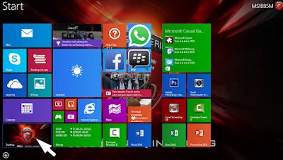 Cara Menambahkan Menu Start Screen Yang Hilang Pada Windows 8/ 8.1 5