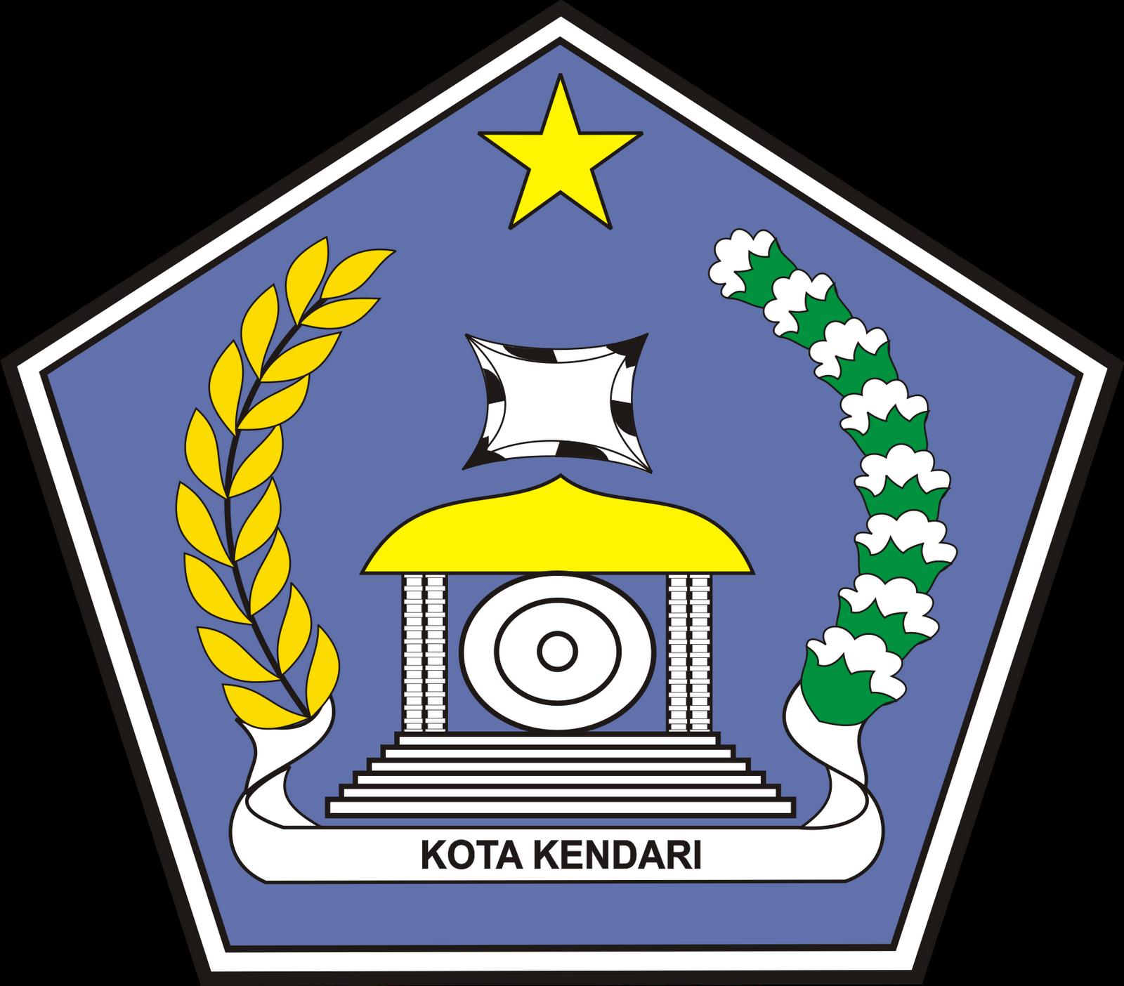 Logo Kabupaten Kota Logo Kota Kendari Sulawesi Tenggara