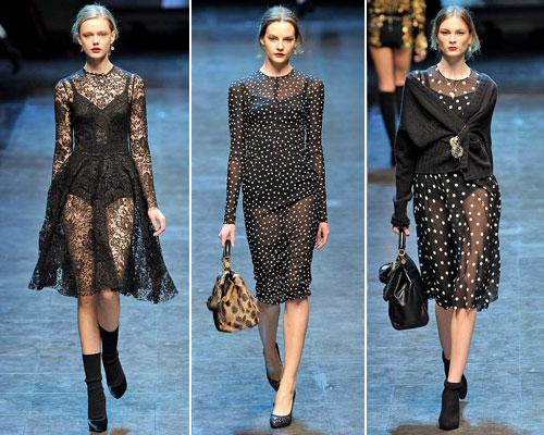 modnue platya dg04 Модні сукні від Dolce & Gabbana