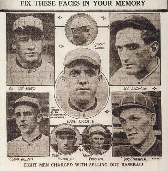1919 black sox scandal essay