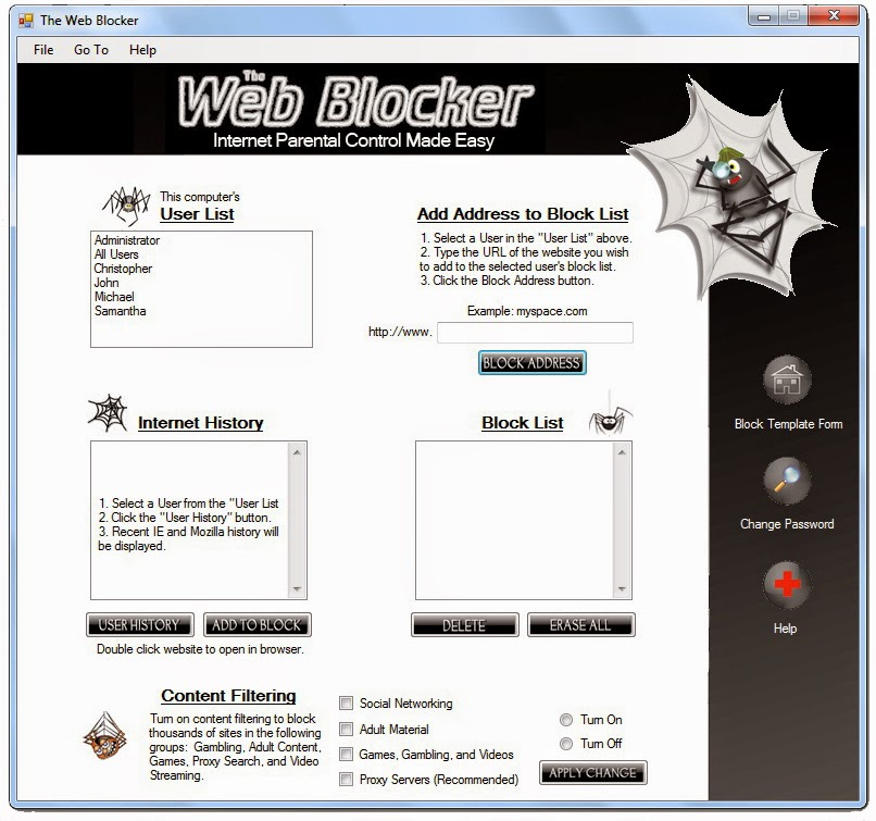 Download The Web Blocker