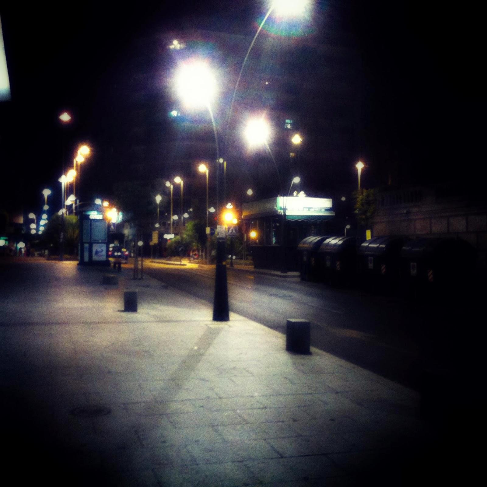 La noche en Almería
