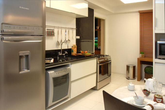decoracao de apartamentos pequenos de luxo:Essencial Pra Viver : Cozinhas de arrasar