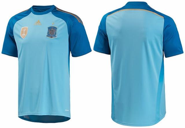 Jersey+GK+Spanyol+Home+2014