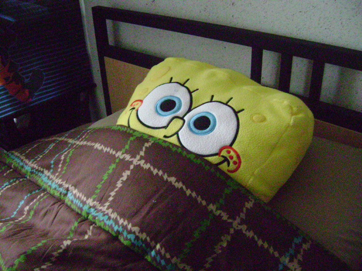 no problem man spongebob loves to sleep all day