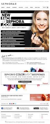 Apr. 16, 2012 Sephora email