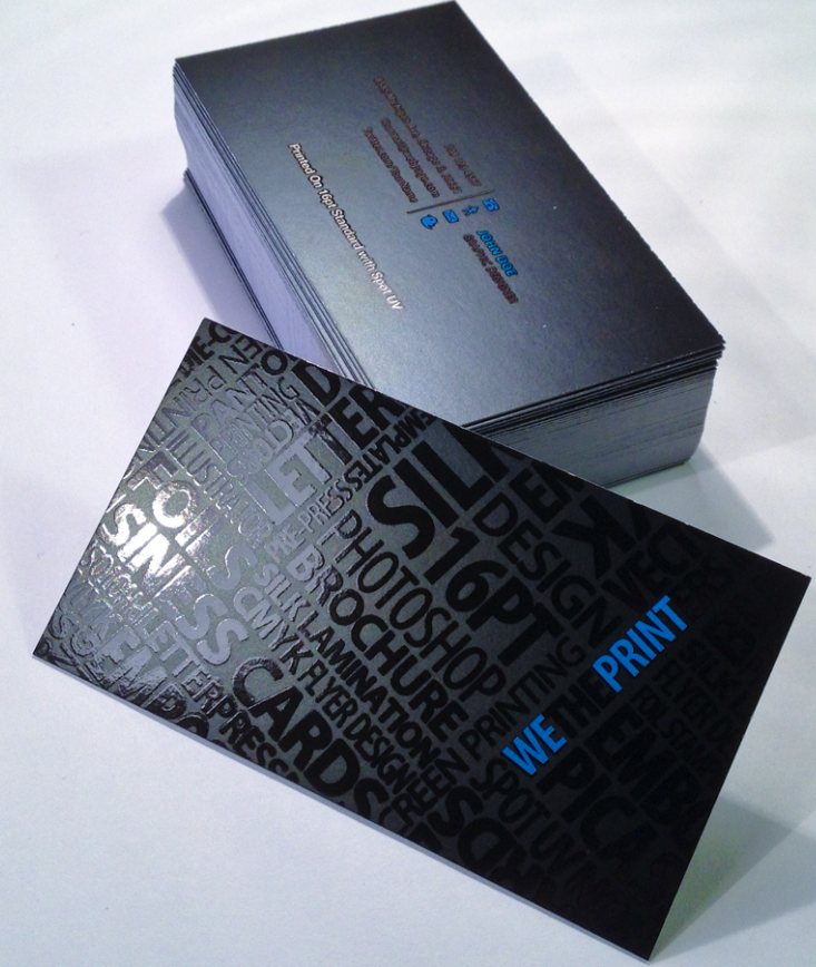 Effective Raised Spot UV Business Cards Printing Impacts Your ...