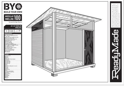 Tiny modern shed