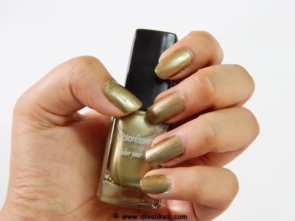 about regular range nail paint bronzie brown 22