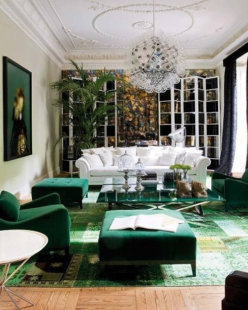 Green Rug For Living Room: Pretty Inspirational: Recent Projects: Over Dyed Rugs And