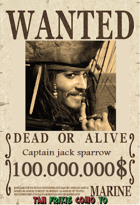 Jack Sparrow Se busca