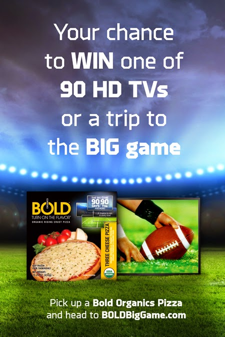 #Win with BOLD Organics Rising Crust Pizza.