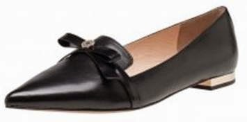 Pointed Toe Bow Loafer