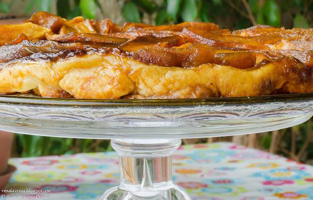 Tarta invertida de manzanas o Tatin de manzanas