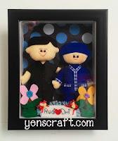boneka couple profesi karyawan bri