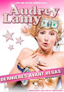 Audrey Lamy Dernière Avant Vegas