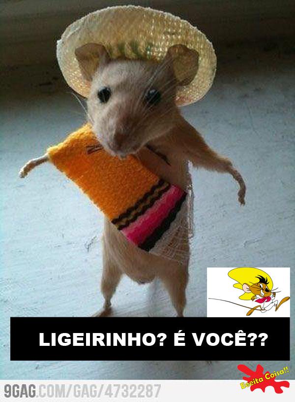 ligeirinho, speedy gonzales, rato, eeeita coisa