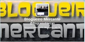 Blogueiro Mercante no twitter
