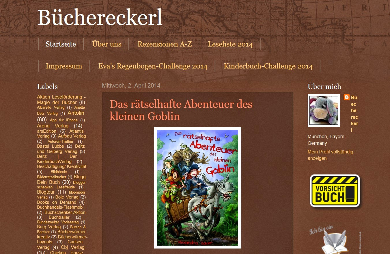 http://buechereckerl.blogspot.de/